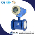 water-free magnetic flow meter with transmitter calibration standard