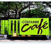 Shipping Container Coffee Shop With Portable Coffee Shop Design