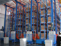 Storage Racking Warehouse Shelving Logistic Equipment Storage System Automatic Storage AS/RS Racking System
