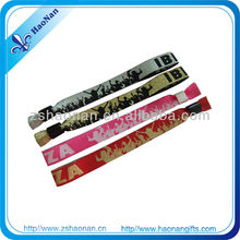 2013 popular gift items Party decoration fabric wristband