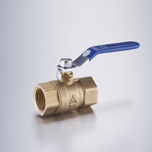 3 inch factory price handle thread lockable brass ball valve