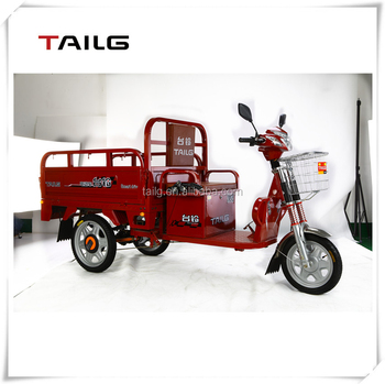500w heavy loading electric motorcycle green cargo carring electric tricycle tailg ebike