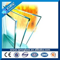 8mm 24mm 6mm Fireproof Laminated Glass