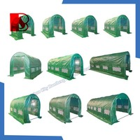 Aluminium Garden Greenhouse china pe tarpaulin factory with 100% virgin / korea pe tarpaulin