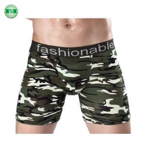 Fashion colored men underwear boxer trunk bulk in stock