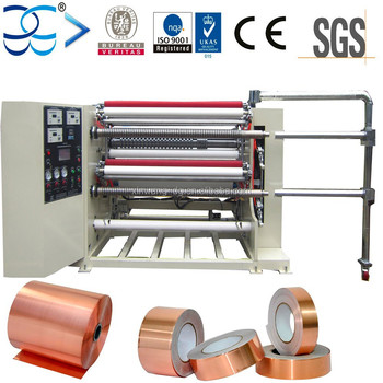 Top Grade Roll to Roll Foil Slitting Machine