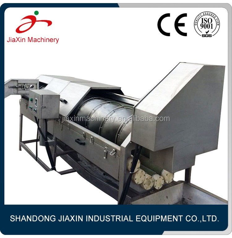China factory sweet corn peeling machine with CE