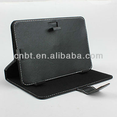 Leather case with 8 inch tablet pc leather keyboard case with keyboard for all 7 inch MID