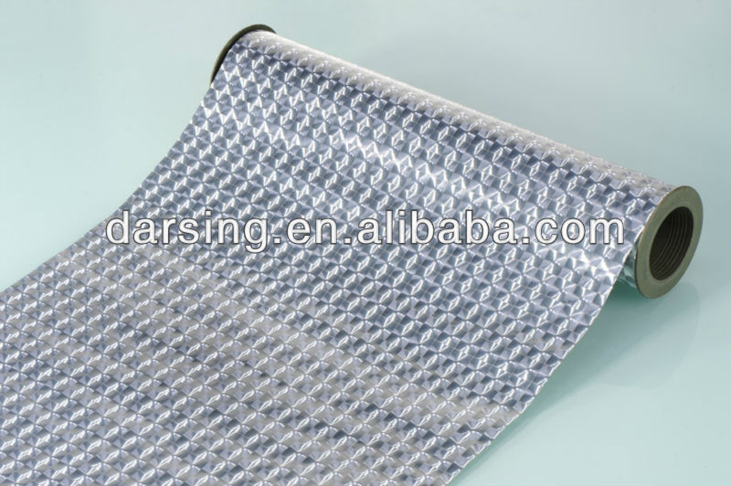 High quality metalized film cpp 3d film