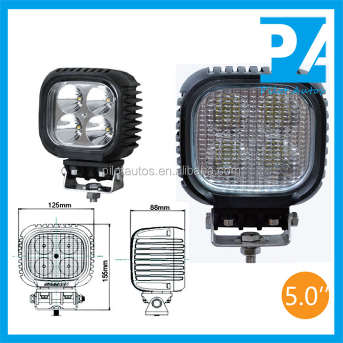"40W 5.0"" inch Led Work Working Light For ATV SUV off road 4x4 heavy equipments Truck Jeep Motorcycle Boat 0440"