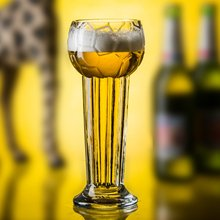 Samyo Handmade Glassware Manufacturer tiger mustache holsten beer glass