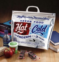 Wholesale disposable thermal insulated cooler bags for frozen food