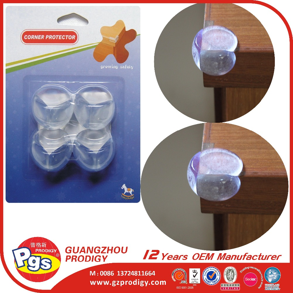 Baby Caring Corners 8-pack Premium Clear Corner Guards Keep Children Safe