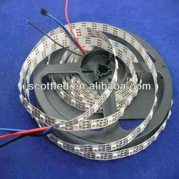 60leds/m WS2811 IC built-in RGB Pixel LED Strip