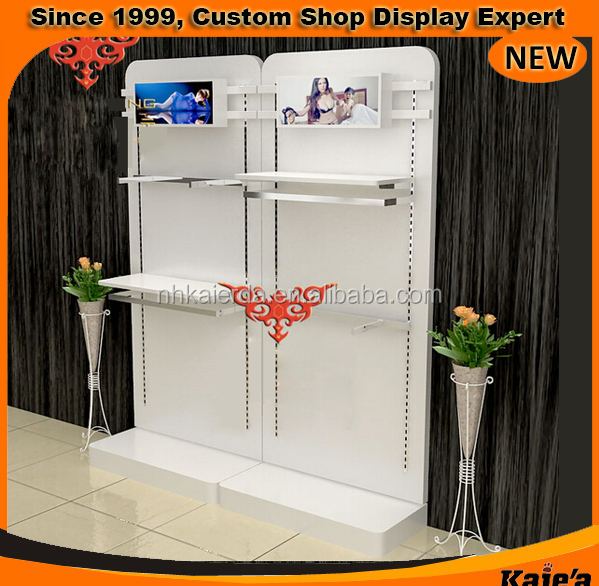 Garment Store Shirt Wall Hanging Display Cabinet