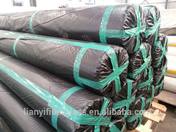 PVC coated polyester geogrid for soil stabilization