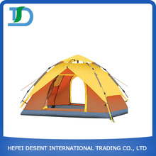 Best Selling Large 4 Person Camping Tent With Fiberglass Pole