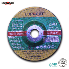 EUROCUT 4 INCH 100x3 mm T42 fibre reinforced abrasive multi function cutting and grinding wheel for ferrous metal