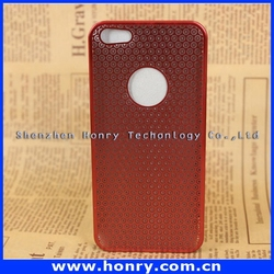 Cheap classical hybrid brushed case for iphone 5 5s