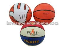 Mini Rubber basketballs no 3