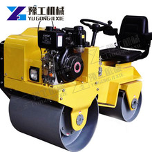 Earth Compactor Roller Mini road roller compactor single and double drum vibratory compactor static road roller