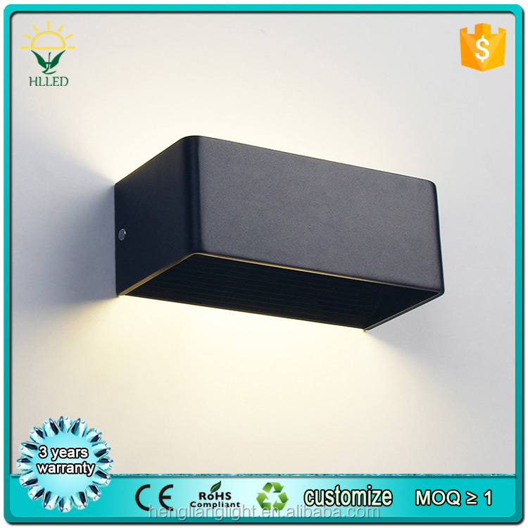 High brightness IP44 indoor dust-proof 10w cob led wall light with 3 years warranty
