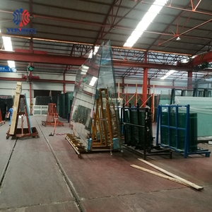12mm thk tempered glass thick toughened stained price