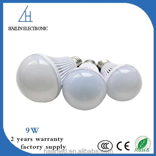 Radar sensing 9w led light bulbs and energy saving bulbs with CE RoHs approved