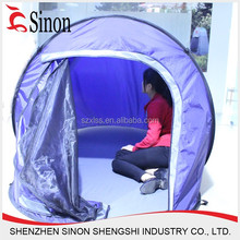 2 person Fiberglass poles ship shaped outdoor dining tents