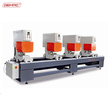 Four head upvc window door making machine for welding