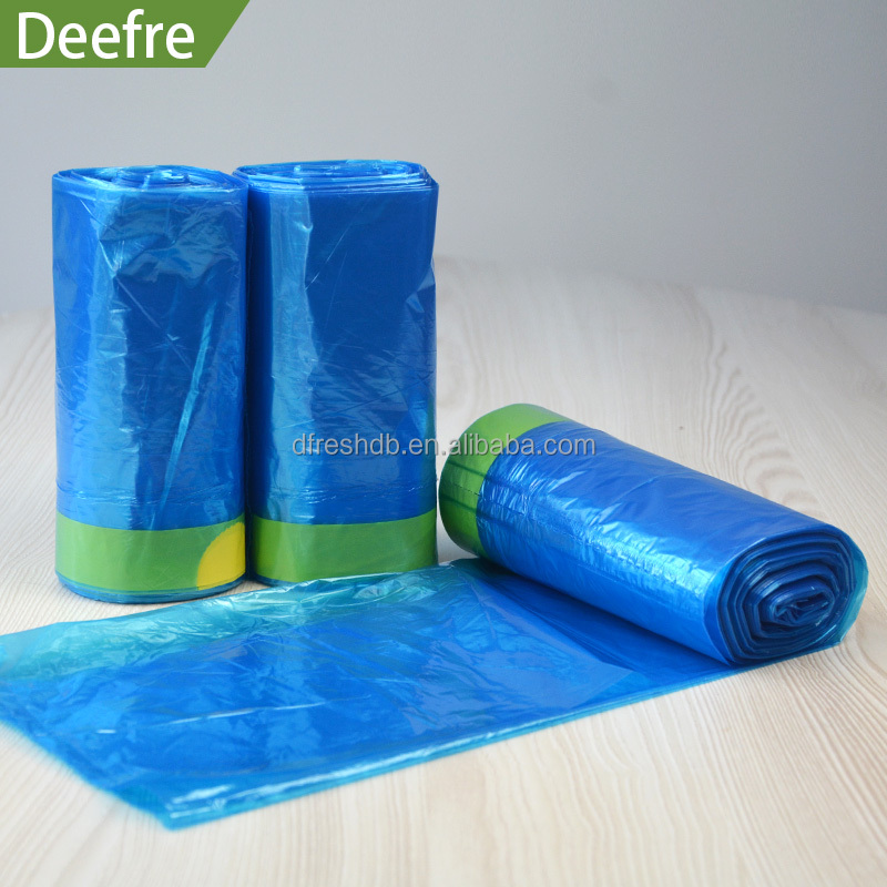 Cheap prevent leakage and odours escaping Garbage Bags