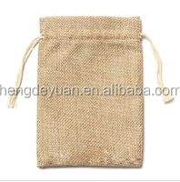 Recyclable Coffee Jute Hessian Cloth Pouch