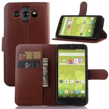 LA001 China Factory Leather Mobile Phone Case for LG AKA , Stand Flip Case Cover for LG AKA H778