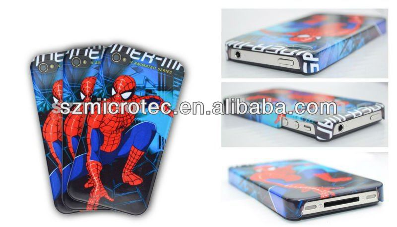 3D Sublimation Polymer Case, MT-IP4-3D for iphone 3g 3d flower case
