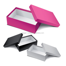 Popular design export gym shoes shopping paper box