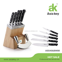 Super sharp precision forged 7 pcs knife set stainless steel kitchen knife set