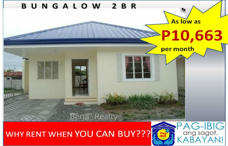 house and lot in san fernando thru pag ibig very affordable in lavista solana flood free