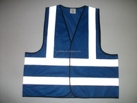 Cheap China Wholesale Blue High Reflective Motorcycle Traffic Security Guard Jacket