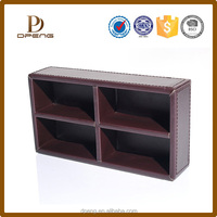 Manufacture OEM excellent quality leather office supplies with visiting cards