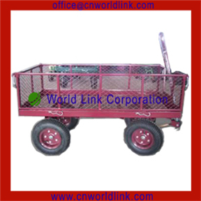 4 Wheels Garden Nursery Utility Steel Wagon