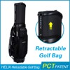 HELIX Personalized custom leather golf bag Unique golf bag