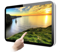 7/ 10/ 13.3/ 15.6/ 19/ 22 inch wall mounted kiosk lcd/ led video display screen /electronic wall calendar touch