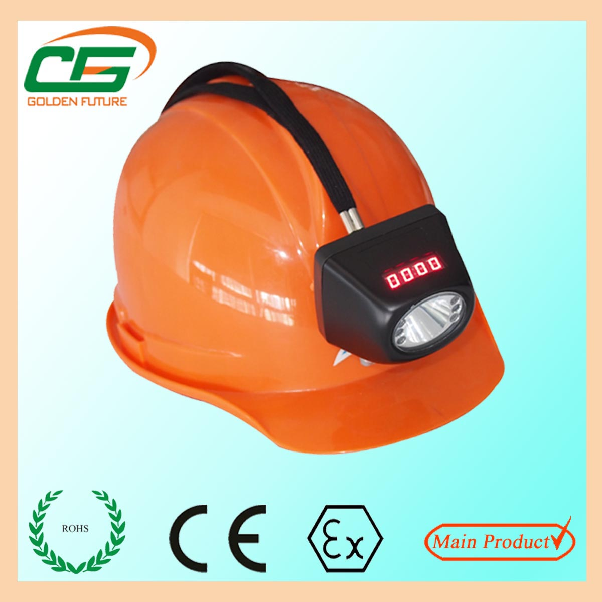 ATEX mining safety cree led cordless miner cap lamp