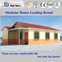 SGS Proved high quality ready made mdoern three bedroom residential house design