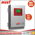 Fan cooling MPPT solar charger controller 45A