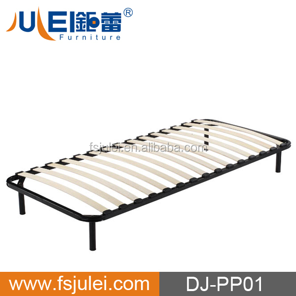 Attractive Price and Popular Sell Simple Design Slatted Single Bed