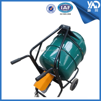 710*680*650mm concrete mixer machine price in india/concrete mixer price with BV&ISO