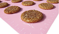 The Culinary Art Store Silicone Non-Slip Pastry Mat, Baking Mat With Measures Is The Perfect Counter to Oven Companion