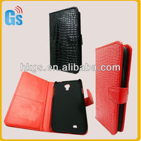 Crocodile Skin Leather Wallet Flip Case for Samsung Galaxy S4 S IV I9500