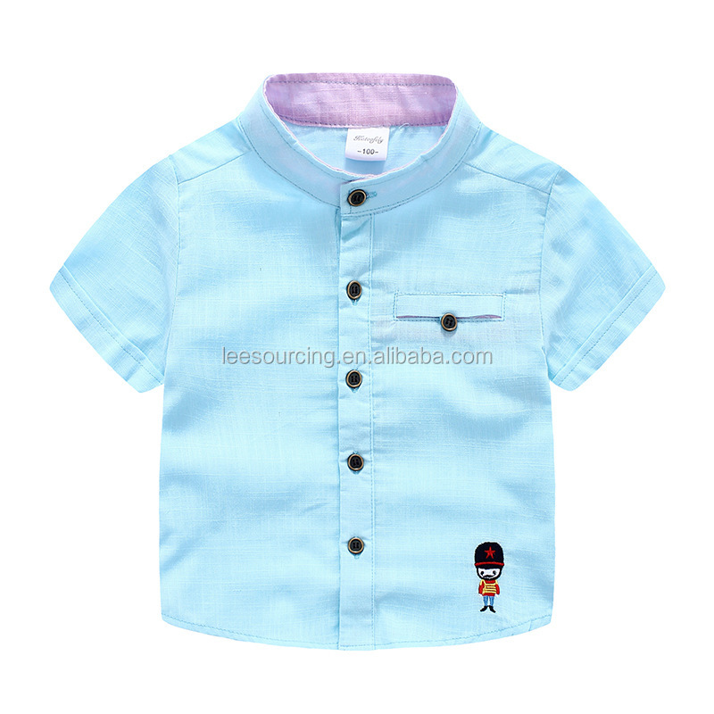 New boys short sleeve t-shirt bamboo joint cotton fabric baby boy t shirt
